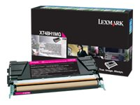 Lexmark Magenta High Yield Return Program Toner Cartridge for X748 Color Laser MFP Series