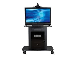 Avteq Plana Series Steel Video Conferencing Cart for 20 to 42 LCD Plasma Display, GMP-300S-TT1, 13111050, Audio/Video Conference Hardware