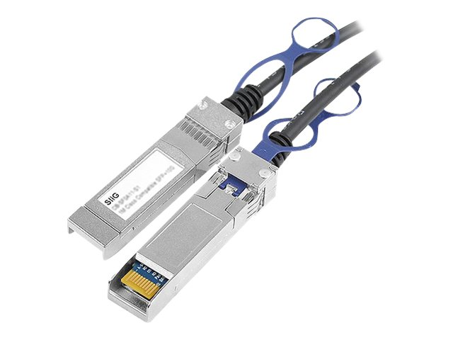 Siig 5M Twinax Direct Cable SFP+ 10GBASE-CU, CB-SF0D11-S1, 16761277, Cables