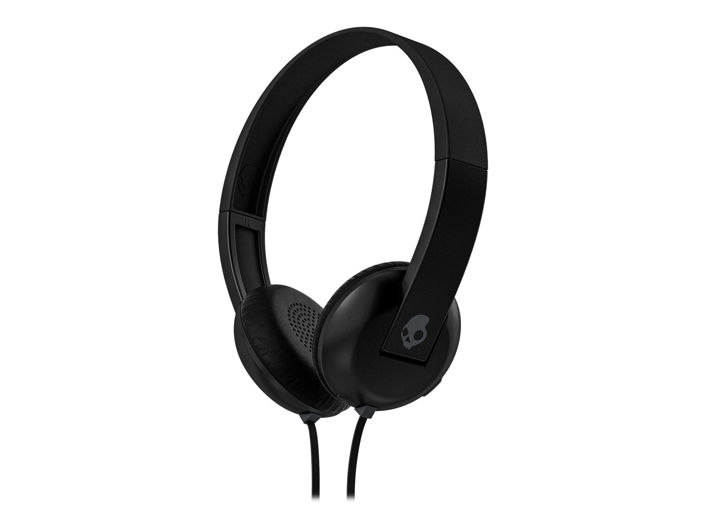 Skullcandy Uproar Headphones - Black Gray Black, S5URHT-456, 23836898, Headsets (w/ microphone)