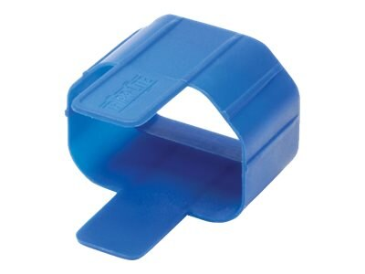Tripp Lite Plug-Lock Inserts for C14 Power Cords , Blue (100-pack), PLC13BL, 15994845, Power Cords