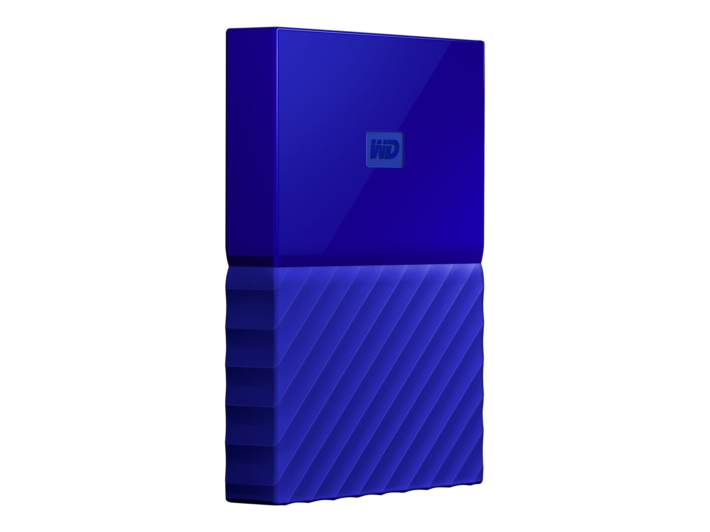 WD 4TB My Passport USB 3.0 Portable Hard Drive - Blue, WDBYFT0040BBL-WESN