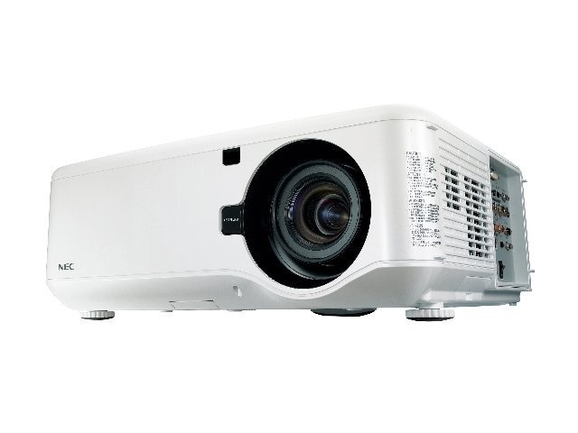 NEC NP4100W DLP Professional Integration Projector with 07ZL Lens, 5500 Lumens, NP4100W-07ZL, 10249045, Projectors