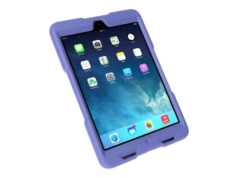 Kensington BlackBelt 2nd Degree Rugged Case for iPad mini, Plum, K97080WW