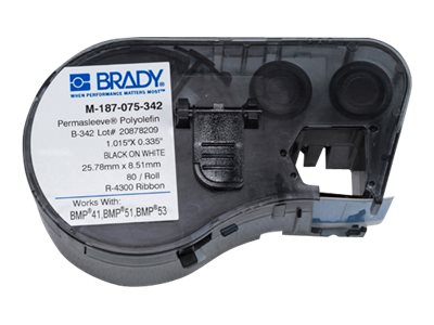 Brady Labels for BMP53 BMP51 Printer, M-187-075-342, 18363926, Paper, Labels & Other Print Media