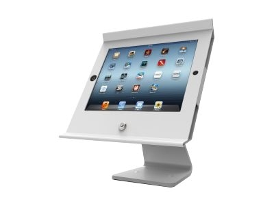 Compulocks Slide Pro POS Kiosk for iPad Air, White, 303W257POSW
