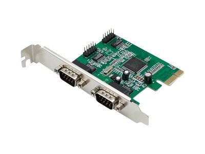 ACP-EP Quad Open RS-232 Port PCIe x1 Host Bus Adapter with Dual Brackets, ADD-PCIE-2X2RS232, 23203417, Host Bus Adapters (HBAs)