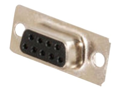 C2G DB9 Female D-Sub Solder Connector, Gold