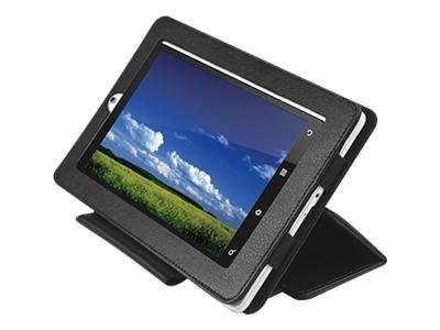 Creative Labs ZiiO 7 Leather Protective Case, Black, 70AZ033500001, 13100810, Carrying Cases - Notebook