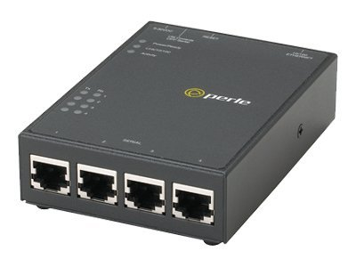 Perle IOLAN SDS4 4-Port Secure Device Server, 04030304, 6129796, Remote Access Servers