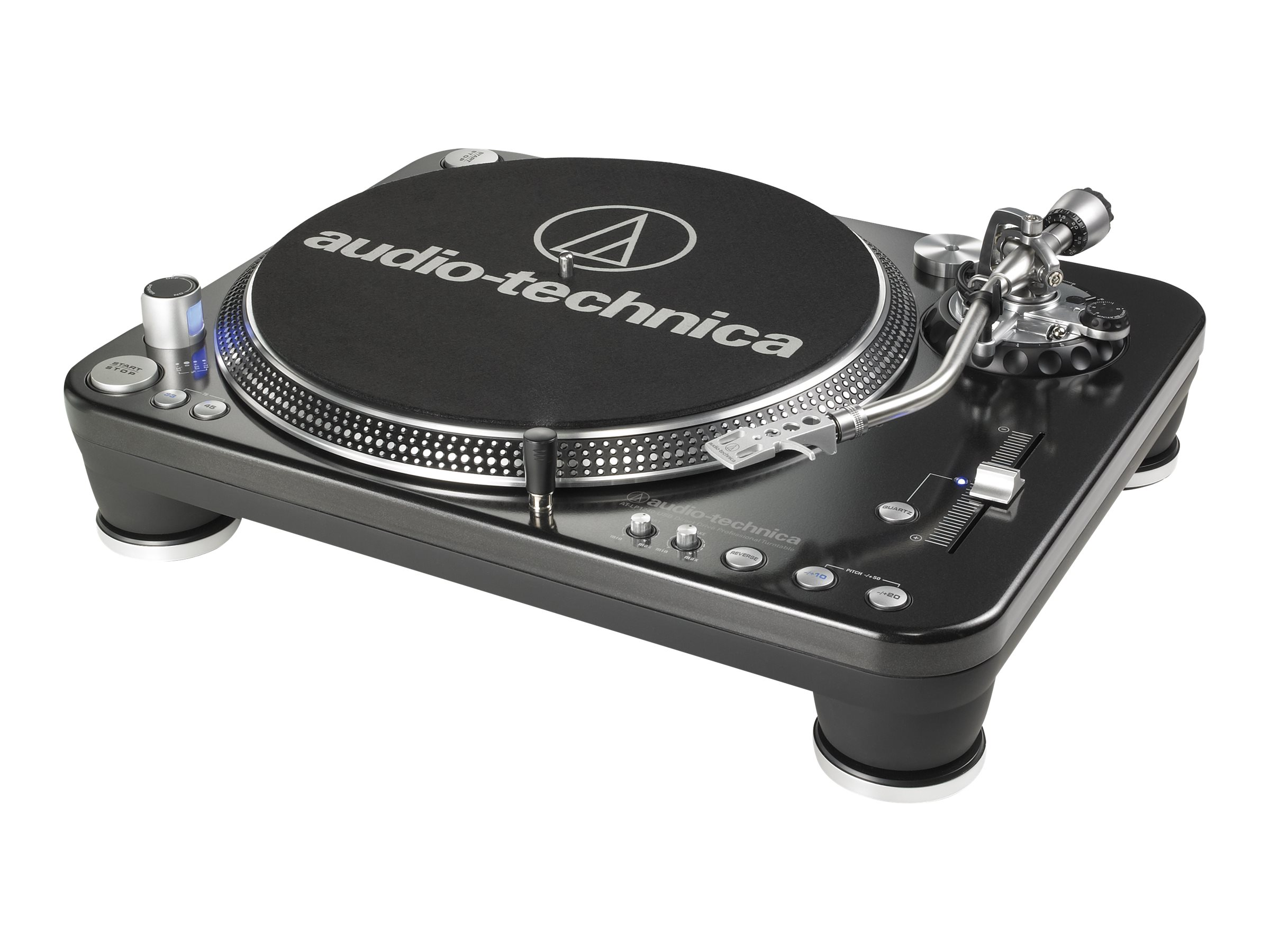Audio-Technica Direct Drive DJ Turntable, AT-LP1240-USB, 31189838, Stereo Components