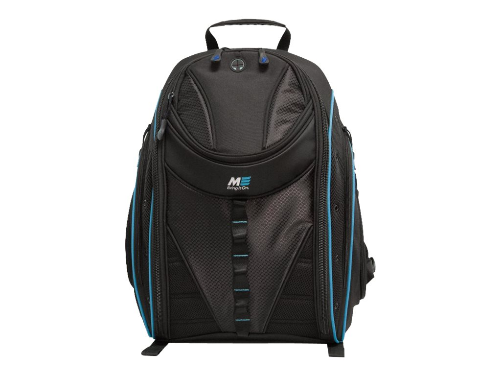 Mobile Edge Express Backpack 2.0 16 17 Mac, Teal, MEBPE92, 17455036, Carrying Cases - Notebook