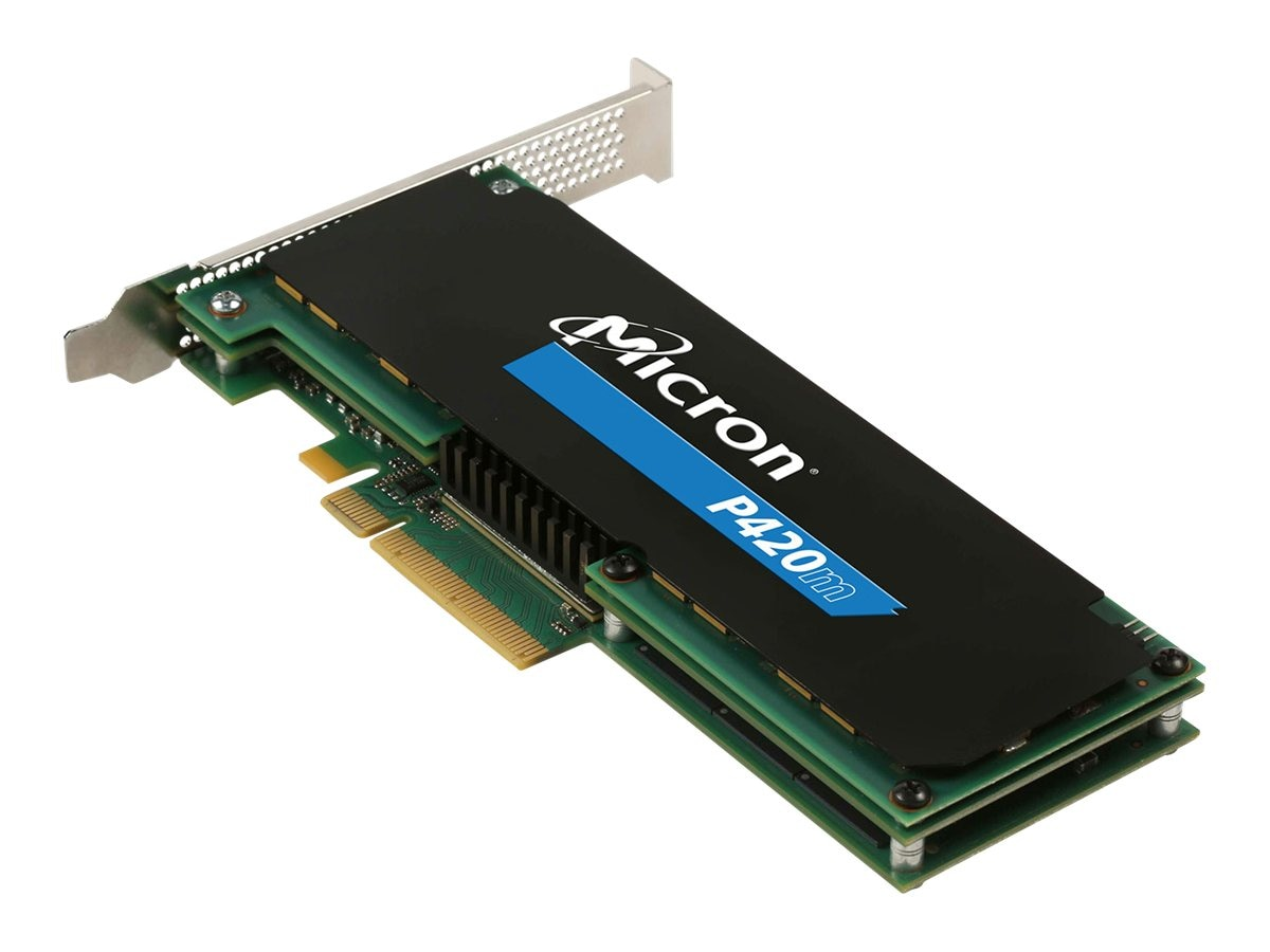 Crucial 1.4TB P420m PCIe HHHL Solid State Drive, MTFDGAR1T4MAX-1AG1ZABYY, 16231444, Solid State Drives - Internal