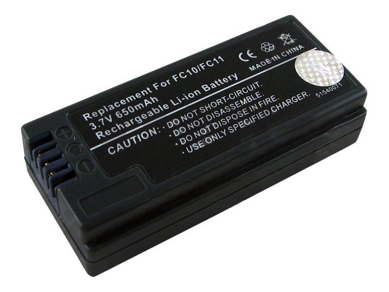 BTI Battery, InfoLithium, 3.7V, 680mAh, for Sony DSC-P10, DSC-P2, DSC-P3, More, SY-IC, 7927298, Batteries - Camera