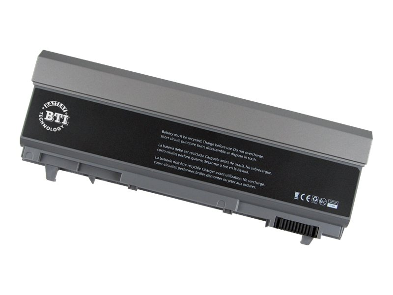 BTI 9-Cell Battery for Latitude E6400 E6400 ATG E6500, KY265-BTI