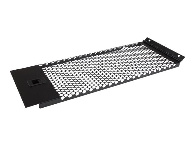 StarTech.com Vented Blank Panel w  Hinge for Server Racks, 4U, RKPNLHV4U, 24285750, Rack Mount Accessories