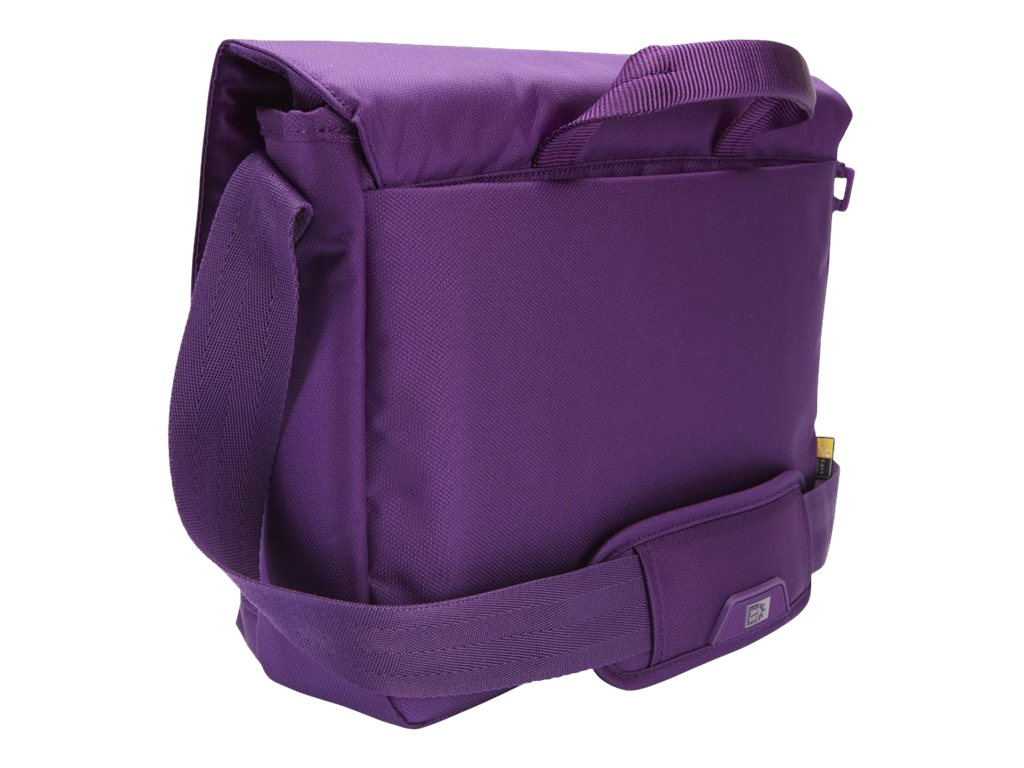 Case Logic 11 Laptop and iPad Messenger Bag, Gotham Purple, MLM-111GOTHAMPURPLE