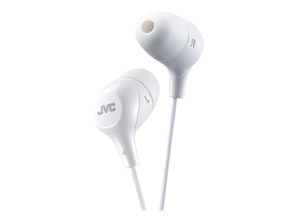 JVC Marshmallow Wired Earbuds - White