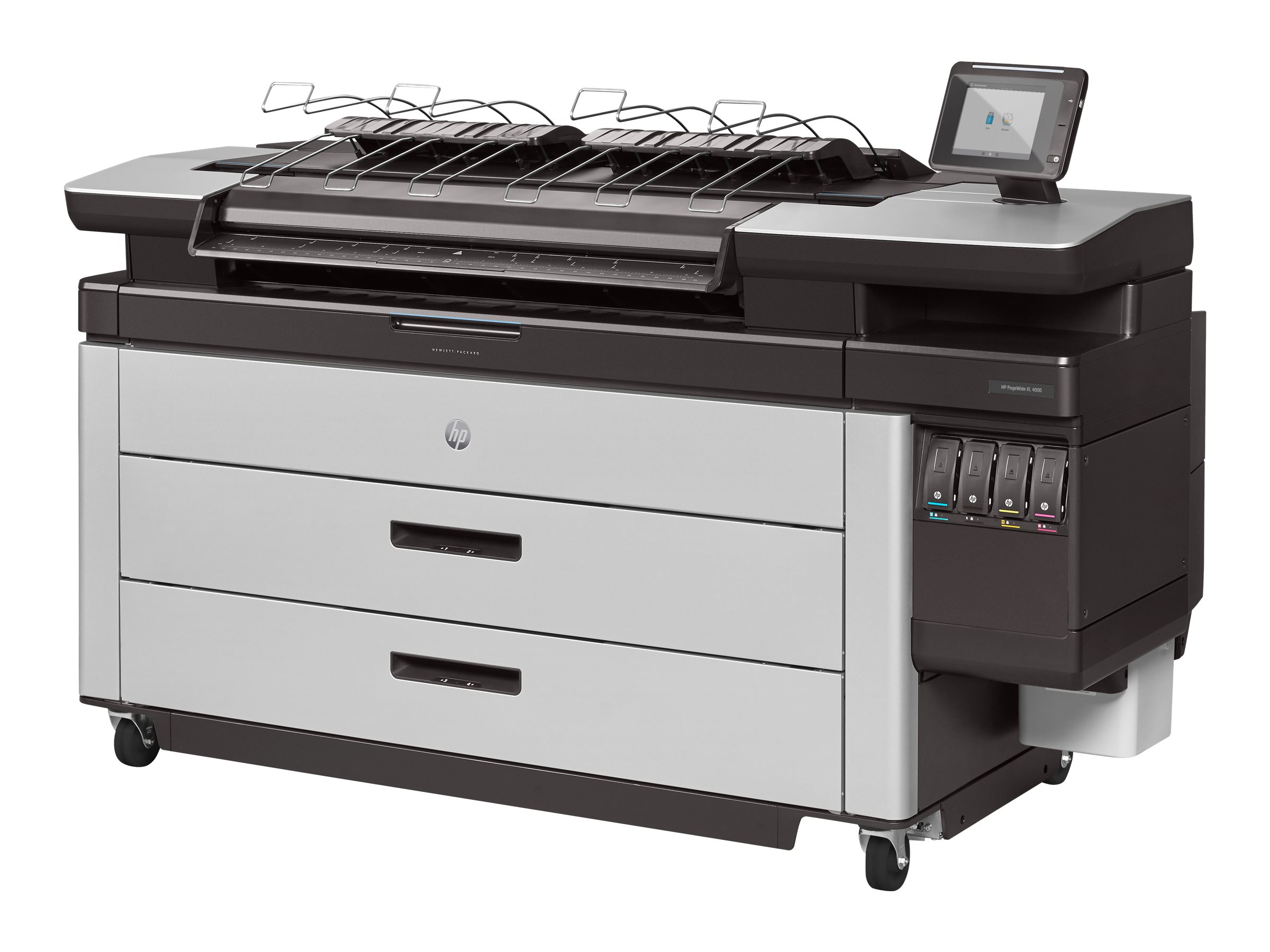 HP PageWide XL 4500 40 Printer w  3-Year Warranty (TAA Compliant), CZ313B#BCB, 31286072, Printers - Large Format