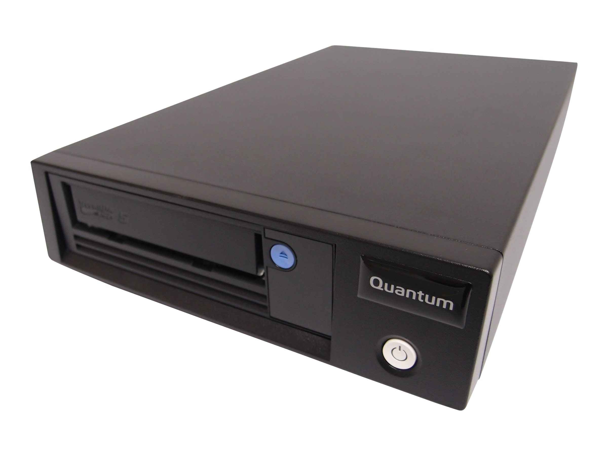 Quantum LTO-5 HH SAS 6Gb s Tabletop Model C Drive w  SAS HBA, (5) Data Carts., Cleaning Cart. & SAS Cable