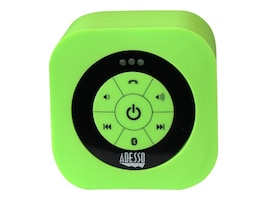 Adesso Waterproof Bluetooth Speaker - Green, XTREAMS1G, 17456047, Speakers - Audio