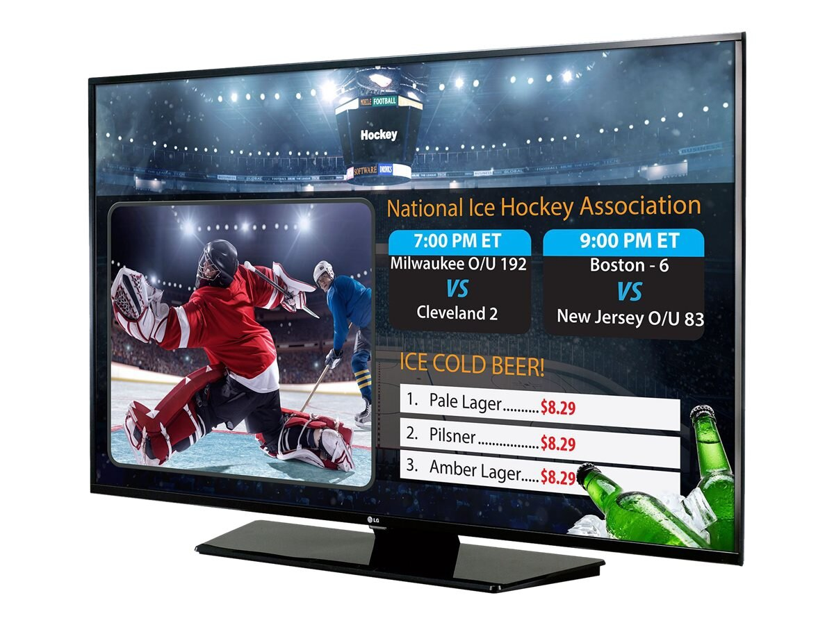 LG 65 LX540S Full HD LED-LCD SuperSign TV, Black, 65LX540S