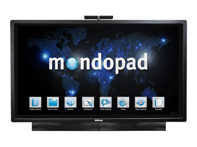 InFocus 80 Mondopad Full HD LED-LCD Touch Display with Camera, INF8021, 18013230, Monitors - Large-Format LED-LCD