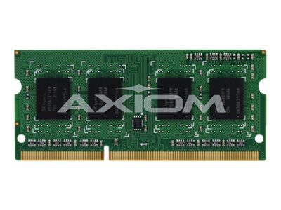 Axiom 4GB PC3-12800 DDR3 SDRAM SODIMM, TAA, AXG53493694/1