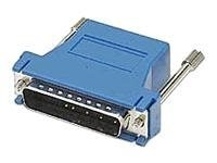 C2G RJ45 DB25 F Modular Adapter Blue, 02928, 6195427, Adapters & Port Converters