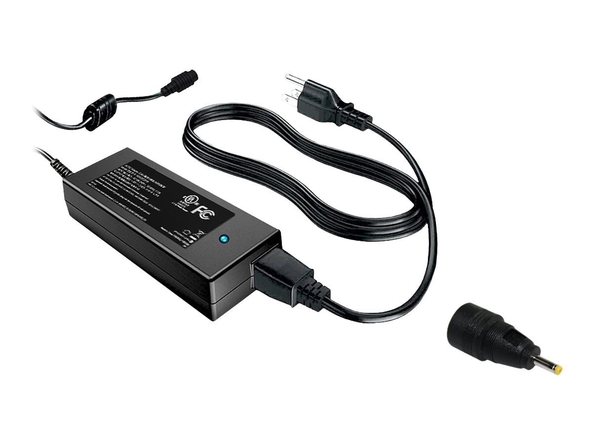 BTI AC Adapter 19V 65W for eeePC, PS-AS-1016P, 12491370, AC Power Adapters (external)