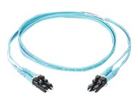 Panduit LC LC 50 125UM OM4 Patch Cable, 3m