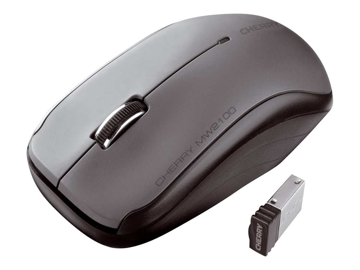 Cherry MW T0200 Mouse 2.4GHz Wireless USB Nano-receiver 3-Button Black, JW-T0200, 16682309, Mice & Cursor Control Devices