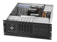 Supermicro SuperChassis 842TQ-665B, Black, CSE-842TQ-665B, 12331691, Cases - Systems/Servers