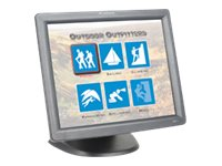 Planar 17 PT1700MX LCD Resistive Touchmonitor, USB Serial, Black