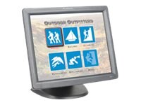 Planar 17 PT1700MX LCD Resistive Touchmonitor, USB Serial, Black, 997-4158-01, 17914626, Monitors - LCD