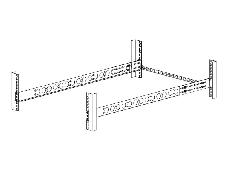 Innovation First 4-Post or 2-post Flushmount Rails for HP DL160 G6, DL180 G6