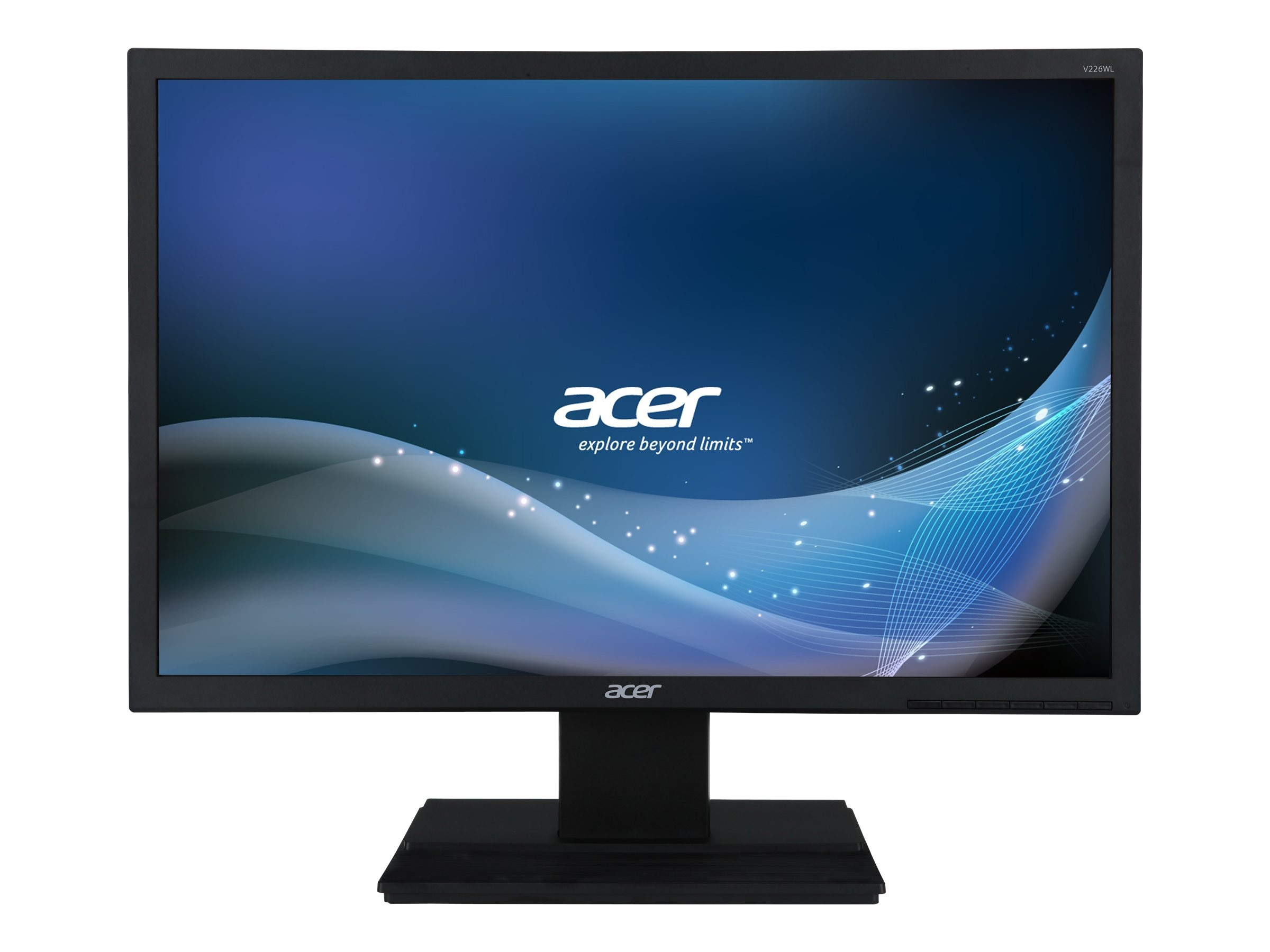 Acer 22 V226WL BMD LED-LCD Monitor, Black, UM.EV6AA.001, 15500041, Monitors - LED-LCD