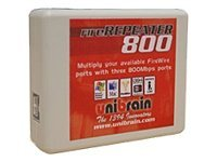 Unibrain FIRE REPEATER 800 3 PORT POCKETPERPSIZE HUB BY UNIBRAIN, 2501, 7060962, USB & Firewire Hubs