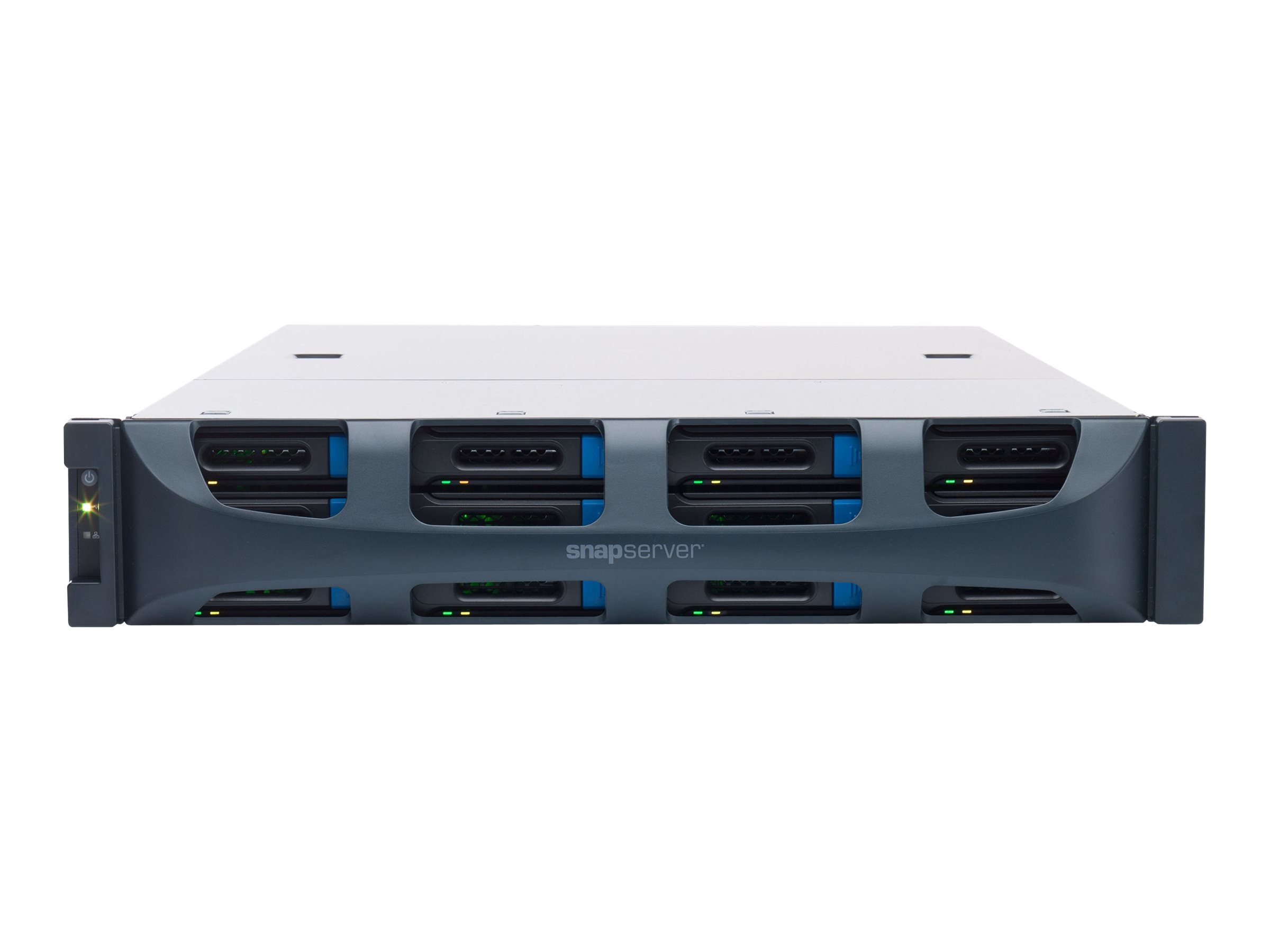 Overland SnapServer XSR 120 NAS 60TB Bundle (12 x 5TB Enterprise SATA Drives), OT-NAS200222, 18129030, Network Attached Storage