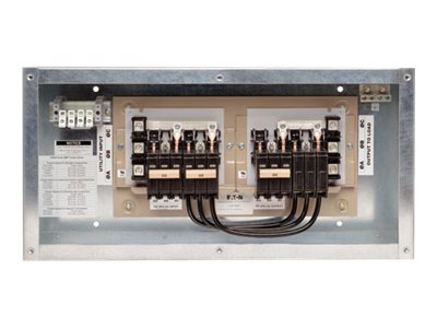 Tripp Lite 3-Breaker Maintenance Bypass Panel for Select 20kVA, 30kVA UPS Systems, SU2030KMBP
