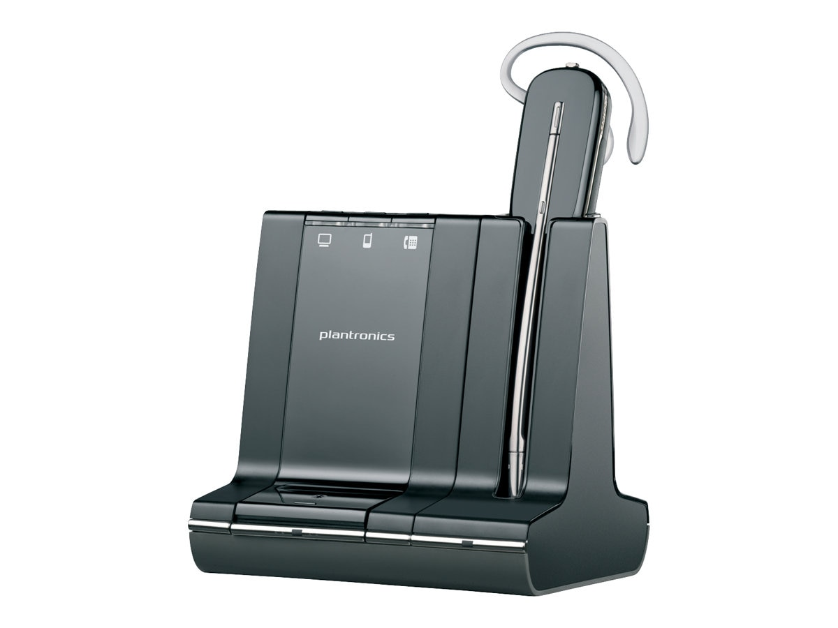 Plantronics Savi W740-M Convertable Wireless Headset System for MS, 84001-01