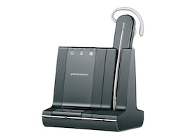Plantronics Savi W740-M Convertable Wireless Headset System for MS, 84001-01, 13014583, Headsets (w/ microphone)