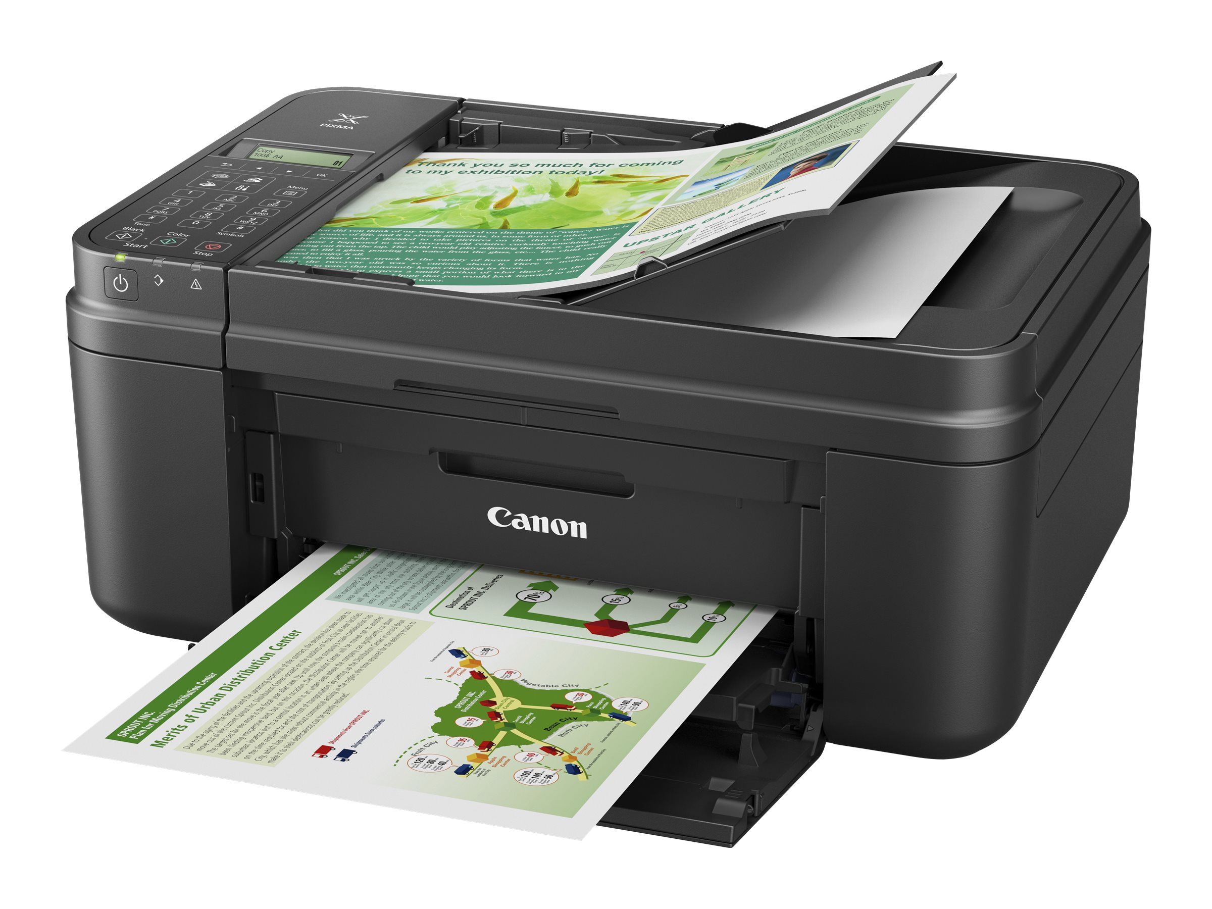 Canon PIXMA MX492 Wireless Inkjet Office All-In-One - Black