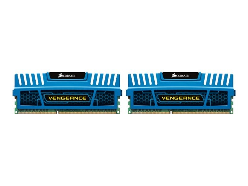 Corsair 8GB PC3-17000 240-pin DDR3 SDRAM DIMM Kit, CMZ8GX3M2A2133C11B, 14369079, Memory