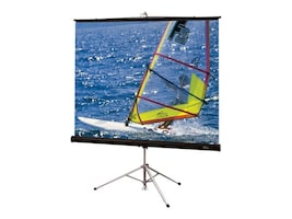 Draper Diplomat-R Portable Projection Screen, Matte White, 16:10, 109, 215024, 13876511, Projector Screens