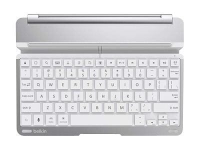 Belkin QODE Thin Type Keyboard Case for iPad Air, White, F5L155TTWHT, 17507529, Keyboards & Keypads