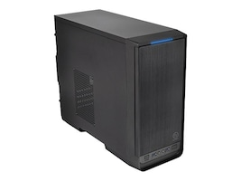 Thermaltake Chassis, Urban S1 Micro 4x3.5 Bays 2x5.25 Bays 4xSlots No PSU, Black, CA-1A8-00M1NN-00, 16976391, Cases - Systems/Servers