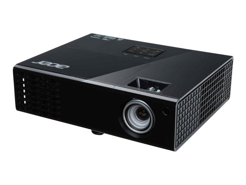 Acer P1500 3D-Ready DLP Projector, 3000 Lumens, Black, MR.JGQ11.00M, 16051486, Projectors