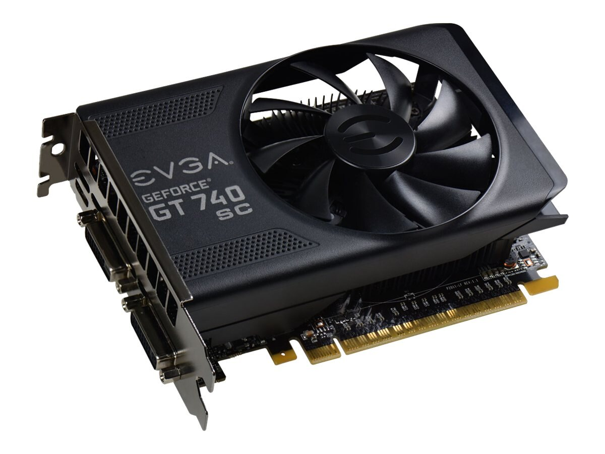eVGA GeForce GT740 SC PCIe Graphics Card, 2GB