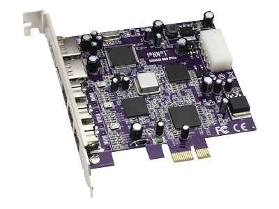 Sonnet 2-port FireWire 400 + 3-port USB 2.0 PCIe Card, FWUSB2A-E, 12061361, Controller Cards & I/O Boards